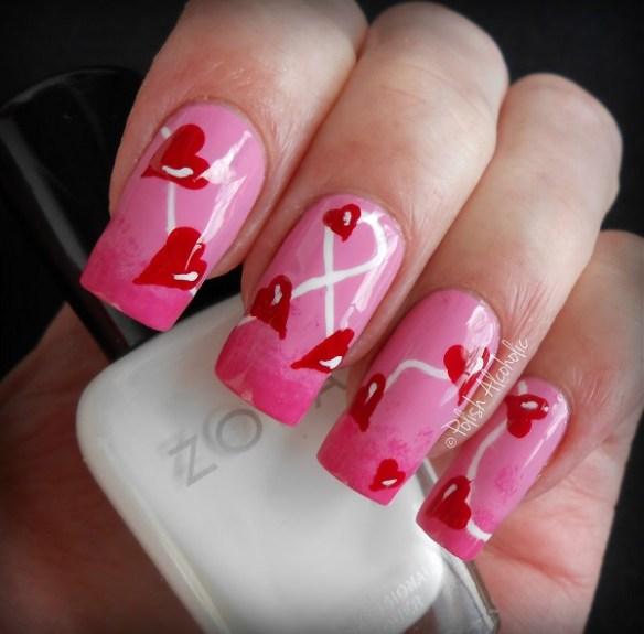 Cute Valentine Nail Art: Valentine's Day Nail Art Contest!