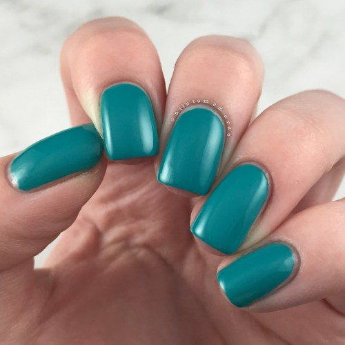 Powder Perfect Bermuda Swatch and Review - Polish and Paws