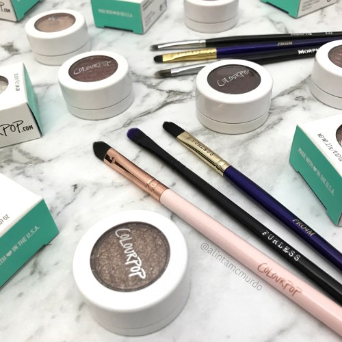 Best eyeshadow brushes to use with Colourpop Super Shock Shadows