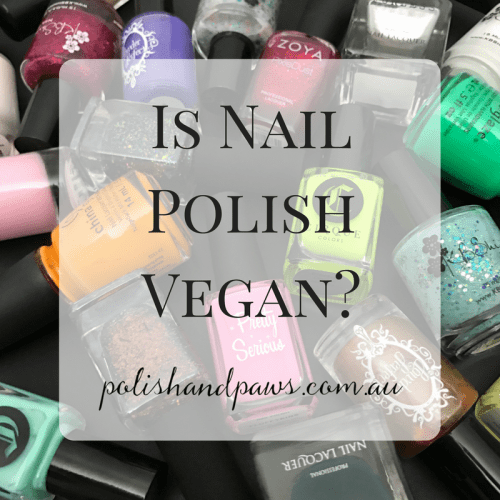 Is nail polish vegan?