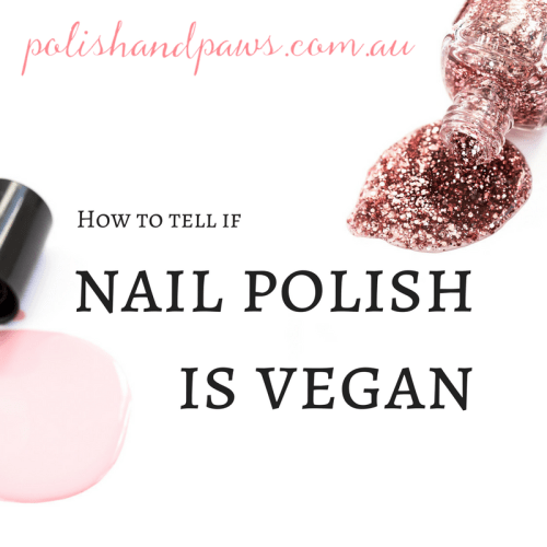 How to tell if nail polish is vegan