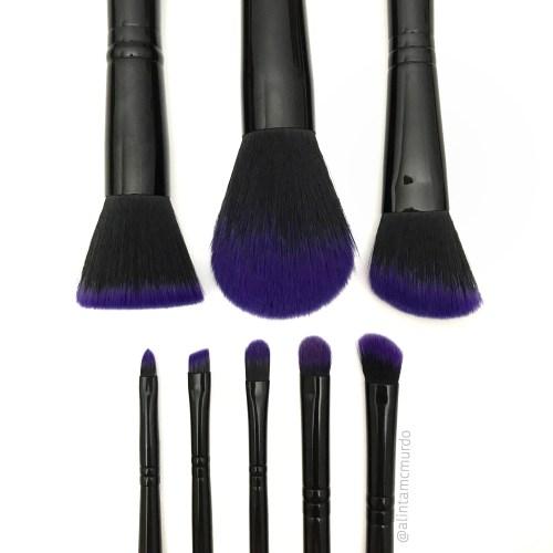 Furless Cosmetics Purple Power Makeup Brush Set Review