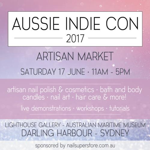 Aussie Indie Con 2017 details