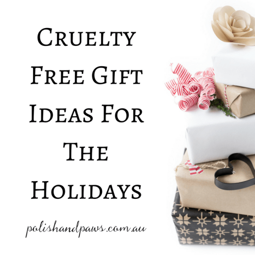 Cruelty free gift ideas for any beauty lover