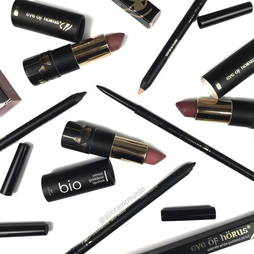 Eye Of Horus Bio Lipsticks and Goddess Pencils