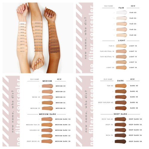 Colourpop No Filter Concealer press images