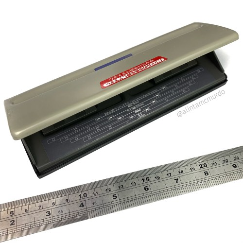 You can punch your own inserts with the pu-462 Adjustable Six Hole Punch and a ruler - polish and paws blog