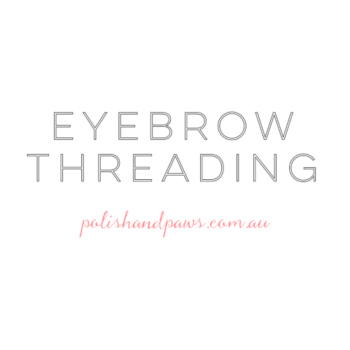 Eyebrow threading tips - polish and paws cruelty free beauty blog