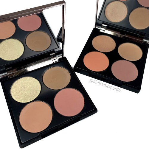 Review and comparison of the Makeup Geek Face Palettes in Porcelain Princess and Fair Lady - cruelty free and vegan. Polish and Paws cruelty free beauty blog