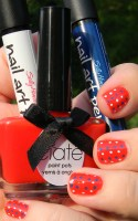 Patriotic Manicure Take 2: Polka Dots!