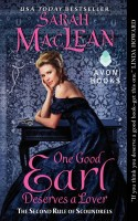 New Release: One Good Earl Deserves a Lover by Sarah MacLean