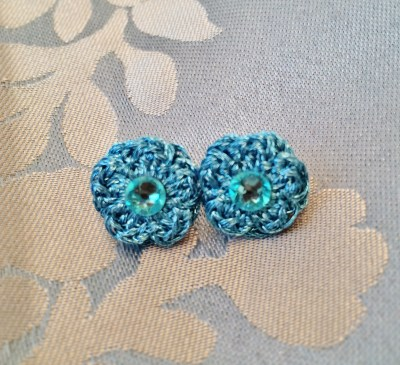 groove and stitch earrings