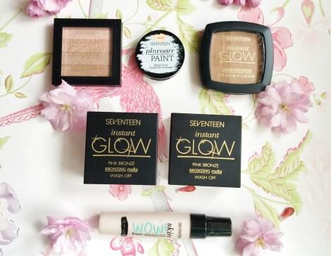 seventeen makeup haul