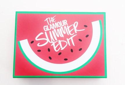 Glamour summer edit box