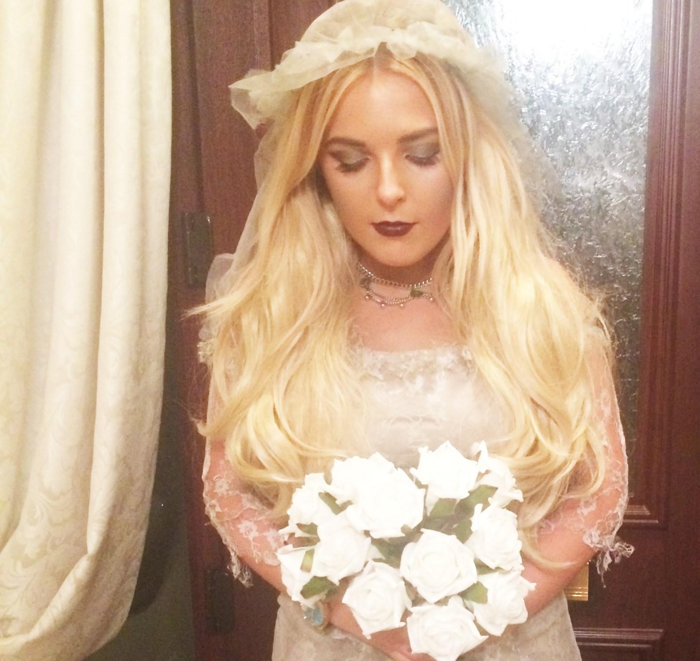 Halloween Dead Bride  OOTD