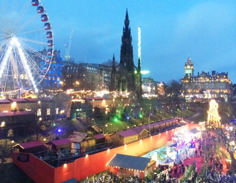 festive week | Edinburgh winter wonderland