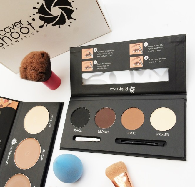 Covershoot Cosmetics | Contour & Brow Kits