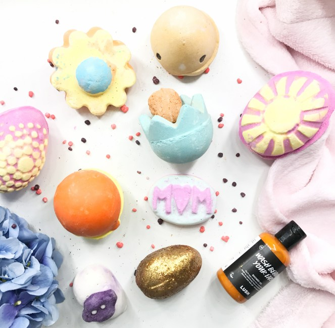 lush 2017 easter mothers day collection
