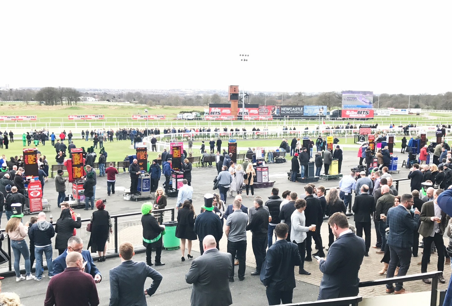 A day at the races... ladbrokes
