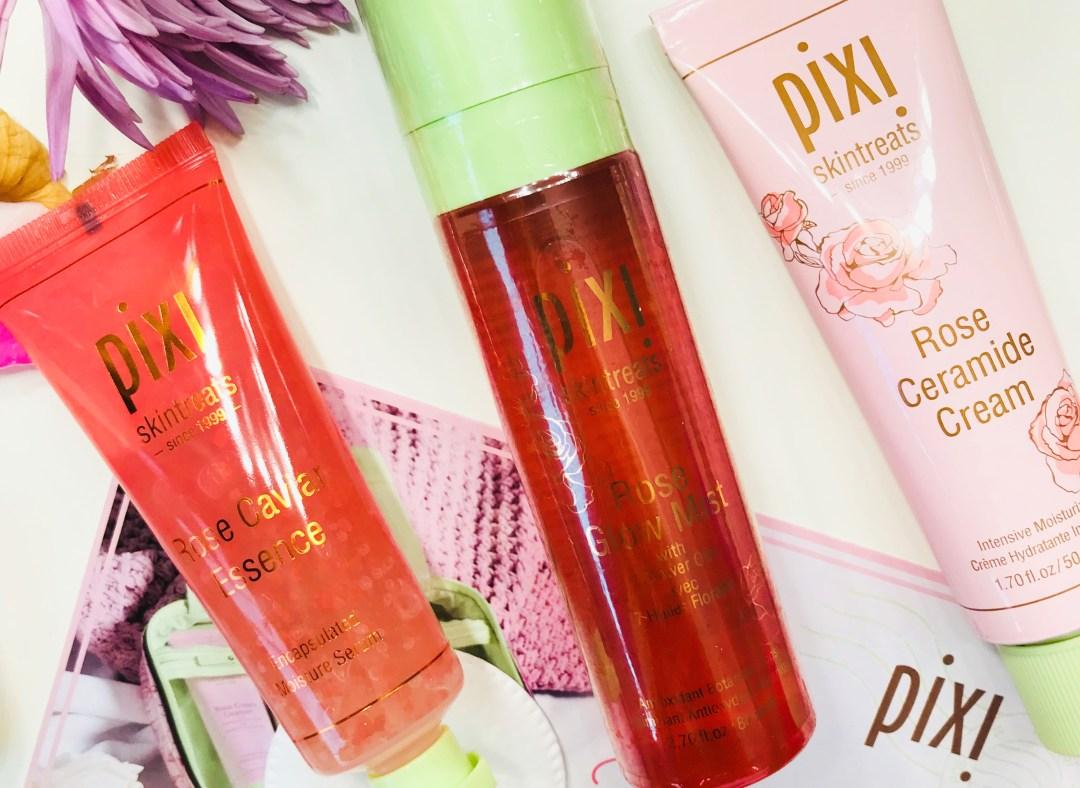 pixi beauty rose cavior glow mist moisturiser