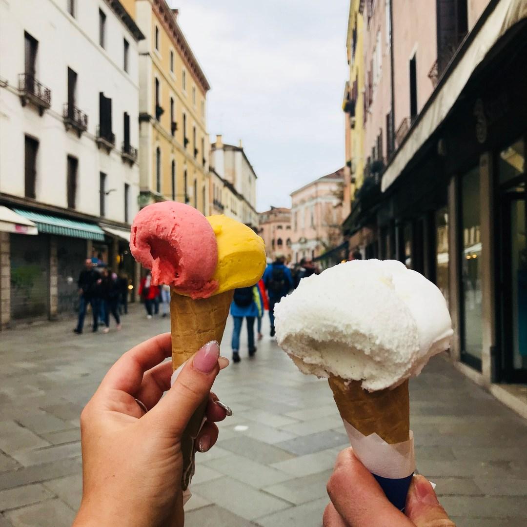 venice gelato ice cream