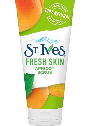 step 2 of home facial - St.Ives Fresh Skin Apricot Scrub