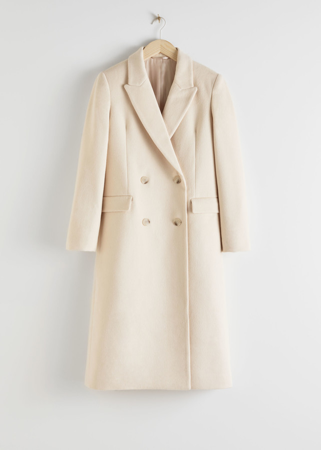 cream And Other Stories coat