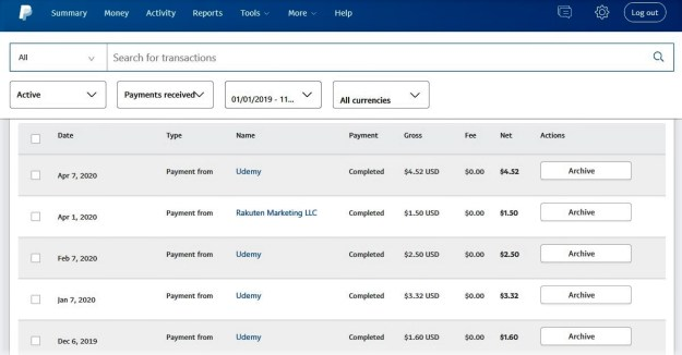 How do I get paid online for affiliate marketing?