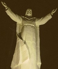 Poland Jesus statue