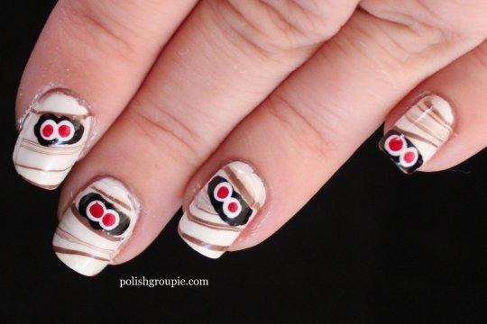 nail-aween nail art challenge
