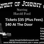 The Spirit of Johnny Cash at the Chopin Ballroom
