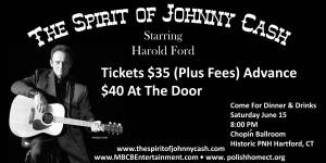 The Spirit of Johnny Cash at the Chopin Ballroom