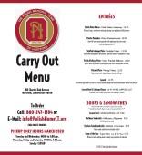 page image - PNH Carry Out menu