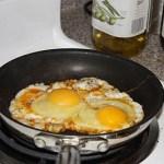 Spicy Eggs Over Medium (aka Low Brass Eggs)