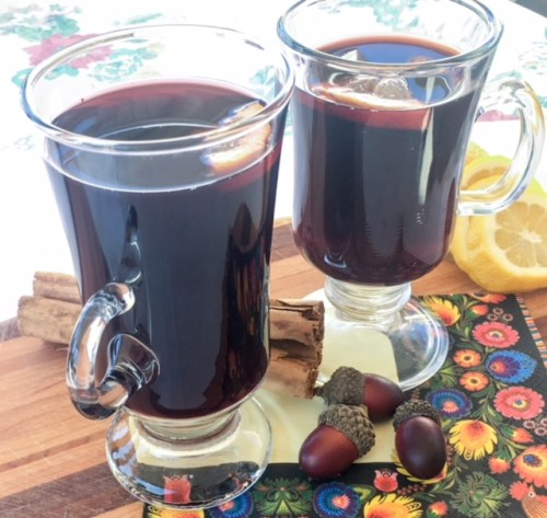 Grzane Wino (Mulled Wine) from Poland