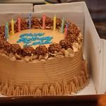 Zosia's Birthday Cake – Chocolate and Nutella!
