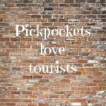 Pickpockets in Krakow