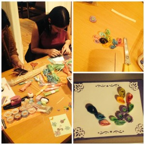 quilling Collage