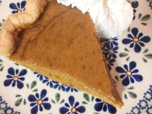 Marie Callender's pumpkin pie recipe