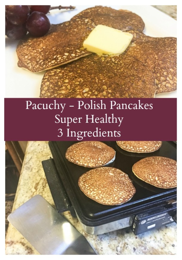 Racuchy a healthy pancake with just 3 ingredients!