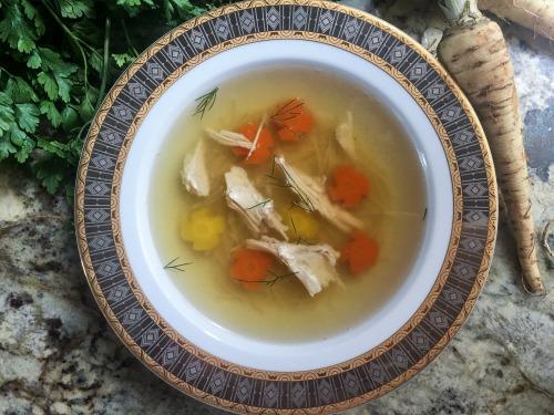 Rosół (Polish Chicken Soup)