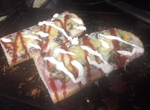 Zapiekanka Polish French Bread Pizza