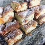 Ciasto Brzoskwiniowe (Peach Cake)