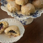 Polish Yeast Buns with Blueberries (Jagodzianki)