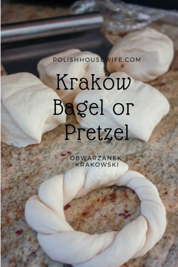 dough for making krakow pretzels
