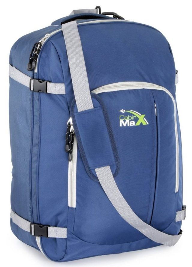 Cabin Max Carry On Maximum Allowance Easy Pack 44l backpack suitcase