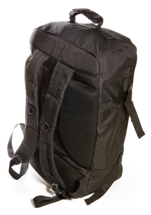 Image of the rear of the Cabin Max Backpack