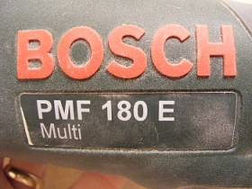 PMF 180 E Multitool or allrounder from Bosch