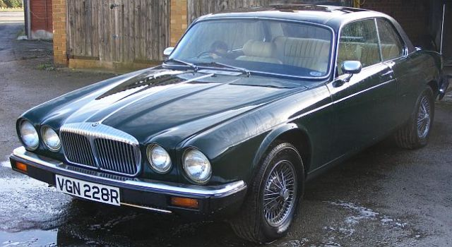 XJ C Coupe with series III three 3 bumpers