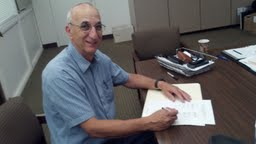 Photo: Declaration signing Jerry Fenning, Co-chair